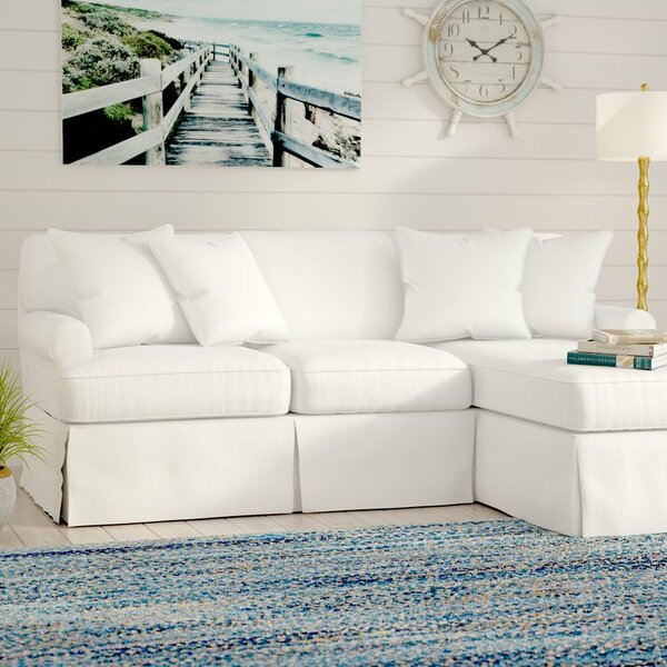 #2 Telluride Sleeper  Sectional With Ottoman By Laurel Foundry Modern Farmhouse Reviews