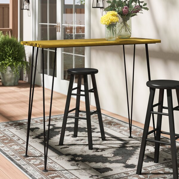 Loya Outdoor Bar Table by Union Rustic