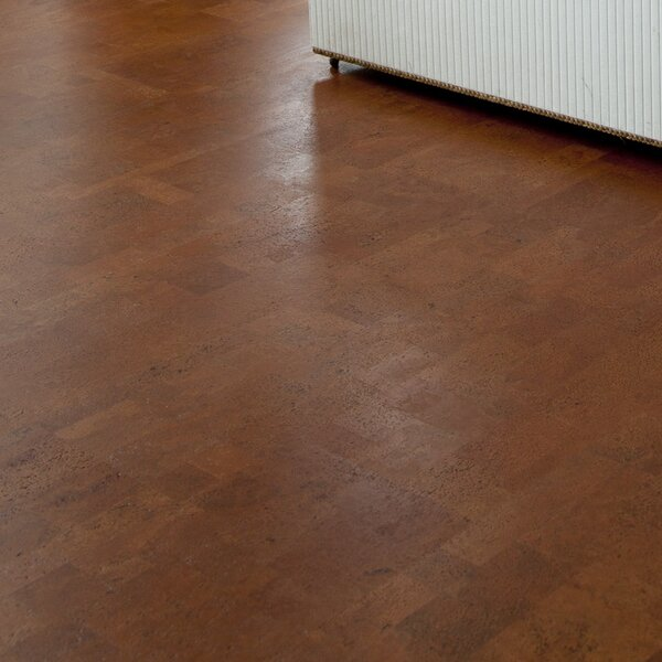 12 Cork Hardwood Flooring in Aphrodite Brown by APC Cork