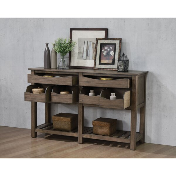 Maclin 6-Drawer Buffet Table by Millwood Pines