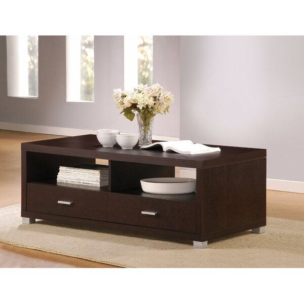 Flemingdon Wooden Coffee Table With Storage