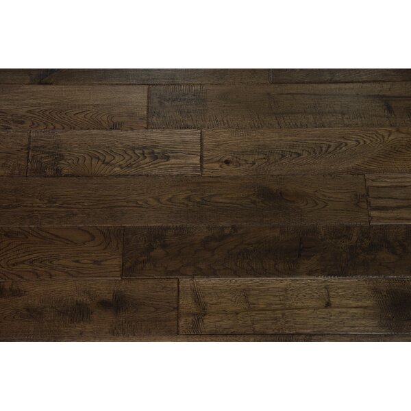 Douro 4-3/4 Solid Oak Hardwood Flooring in Umber by Branton Flooring Collection