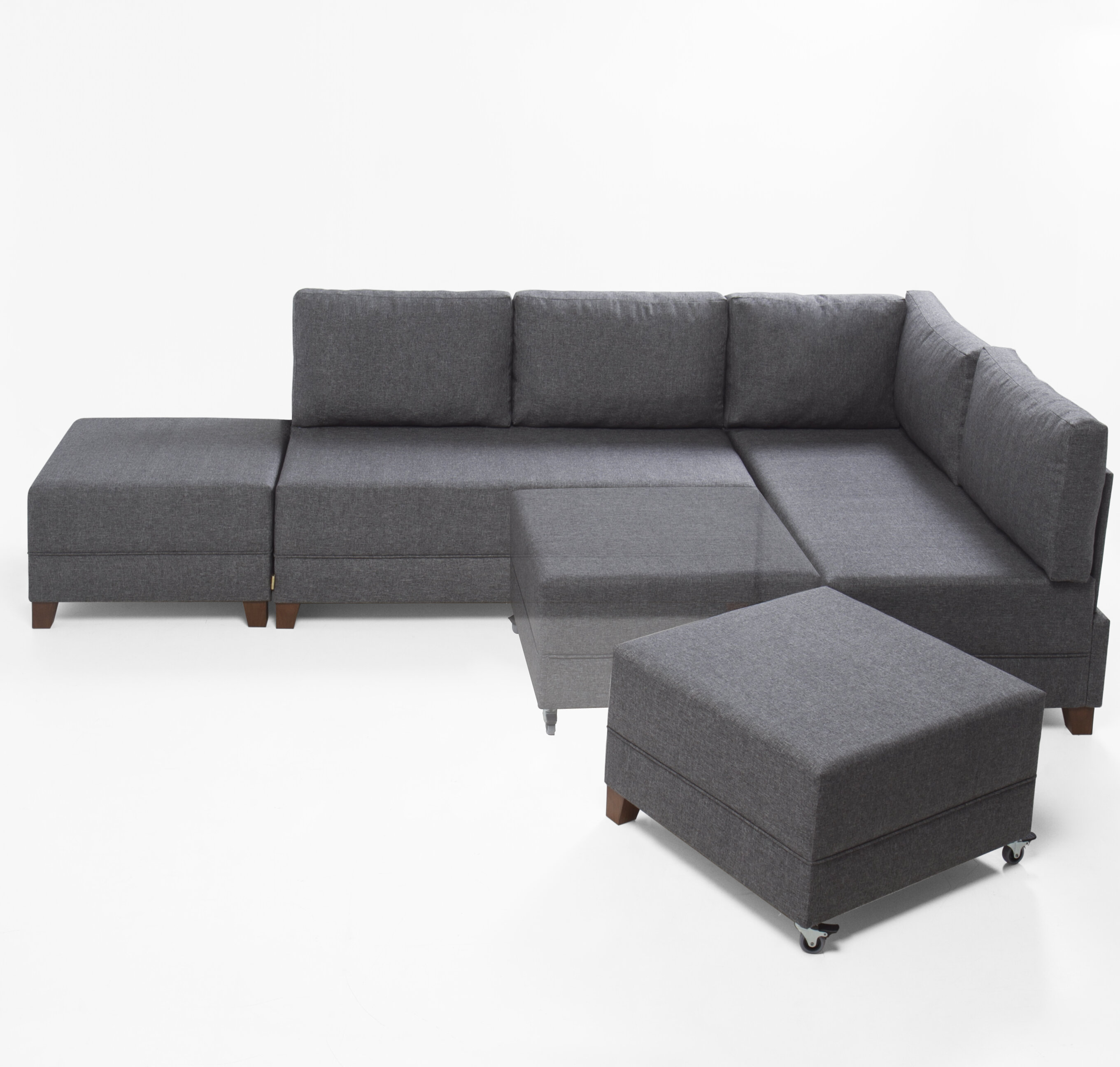 style with modern sofa sectional sleeper leather