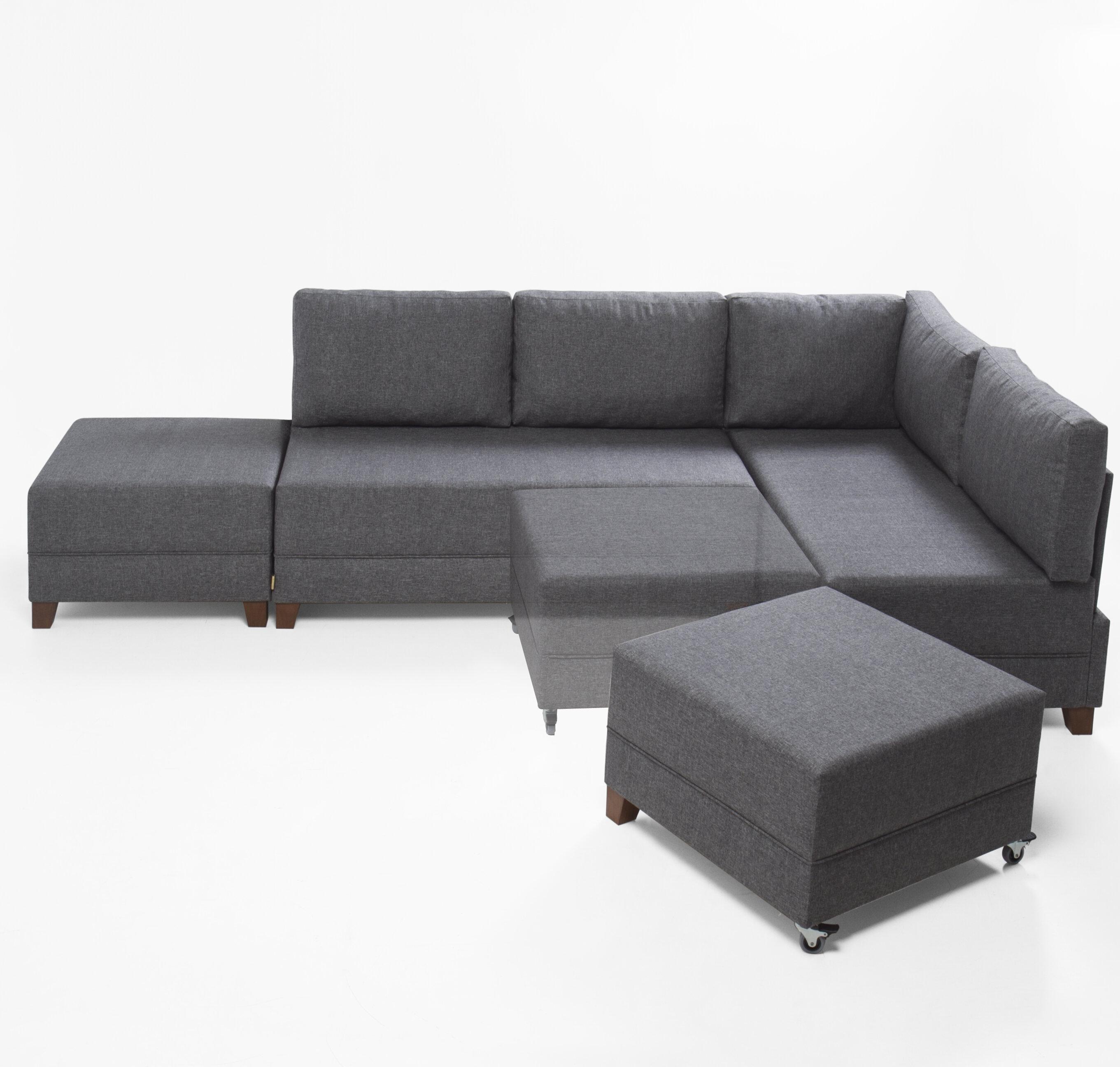 sectional leather storage sleeper faux team futon dhp free l hartford black