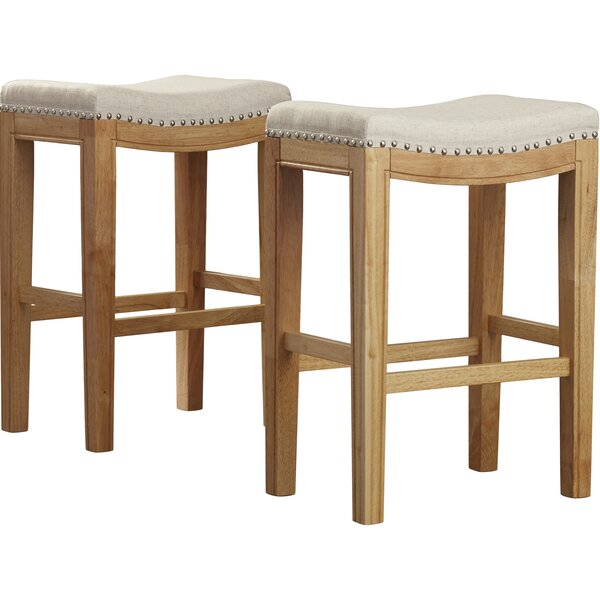 Lyda 26 Bar Stool (Set of 2) by Lark Manor