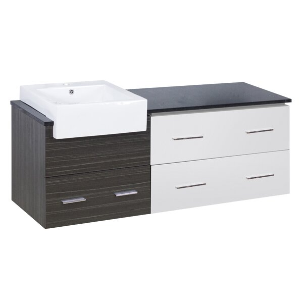 Bascom 61 Single Bathroom Vanity Set by Orren Ellis