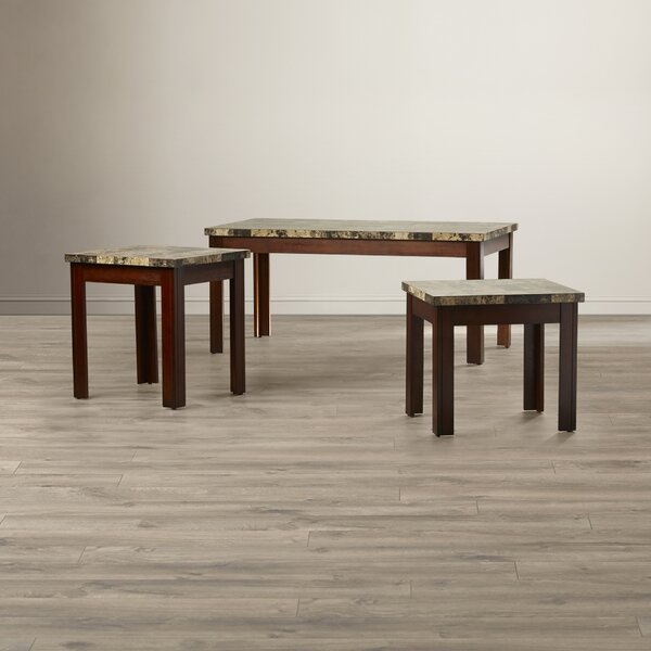 Valholl 3 Piece Coffee Table Set by Red Barrel Studio