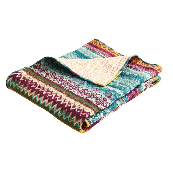 Valencia Cotton Throw Blanket by World Menagerie