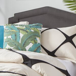Cynthia Smooth Upholstered Panel Headboard by Darby Home Co