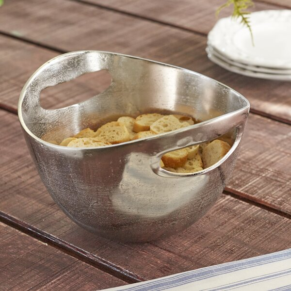 Lodo Cut Out Handled 64 oz. Cereal/Soup Bowl by Birch Lane™