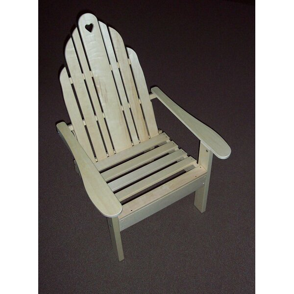 Grandparents Wood Adirondack Chair by Prairie Leisure Design