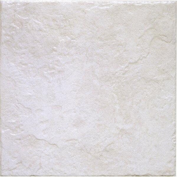 Romagna 13 x 13 Ceramic Field Tile in Blanco by Interceramic