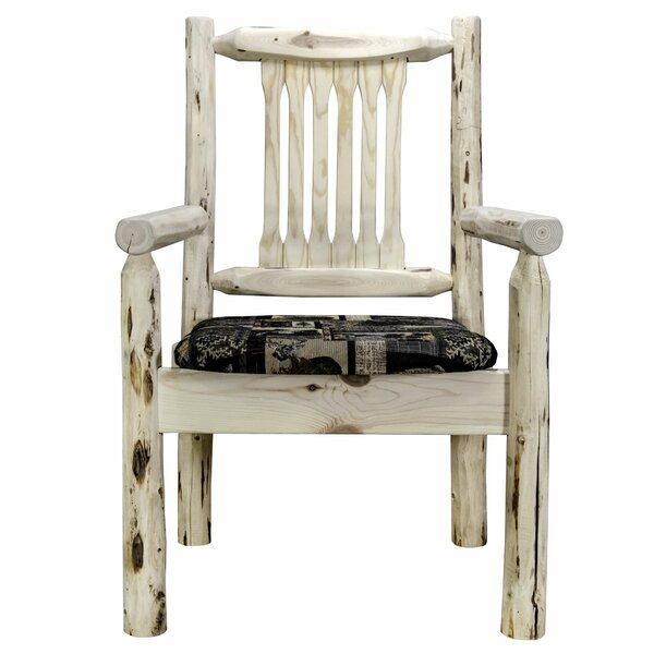 Tabitha Upholstered Dining Chair by Loon Peak Loon Peak