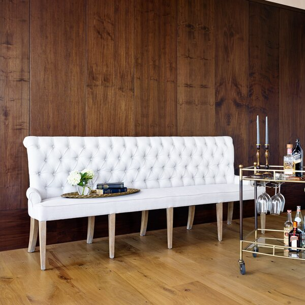 Grateron Upholstered Bench by One Allium Way