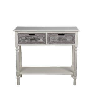 Rensfield 2 Drawer Console Table by Hi..