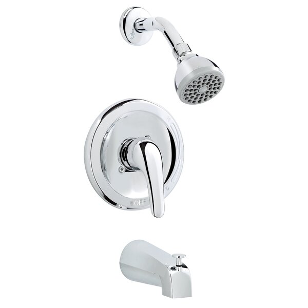 Essential Thermostatic Tub and Shower Faucet with Diverter by Keeney Manufacturing Company