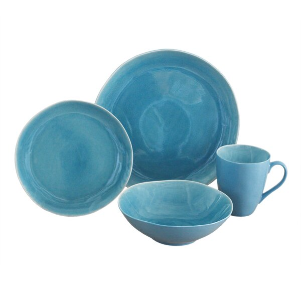Current 16 Piece Dinnerware Set, Service for 4 by Baum