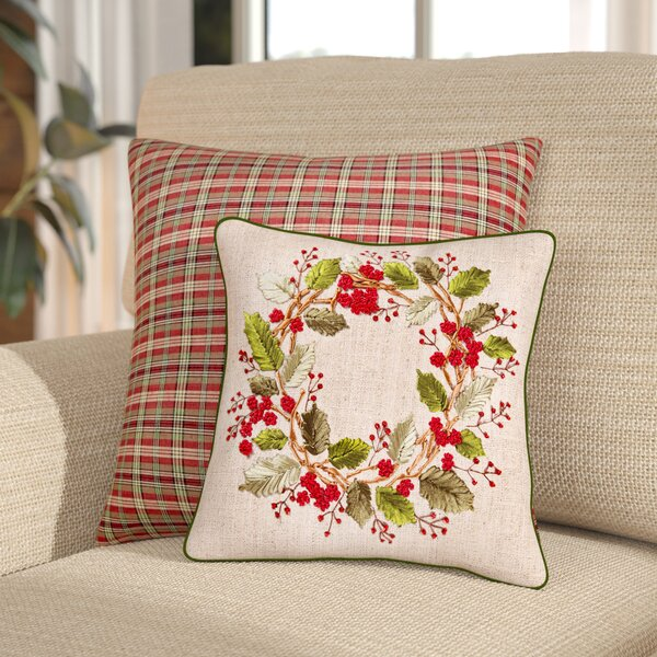 Hale Ribbon Art Throw Pillow by August Grove