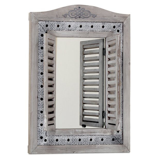 Franks Wall Mirror by Bungalow Rose