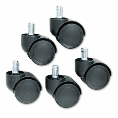 Doublewheel Nylon Casters (Set of 5) by Master Caster Company