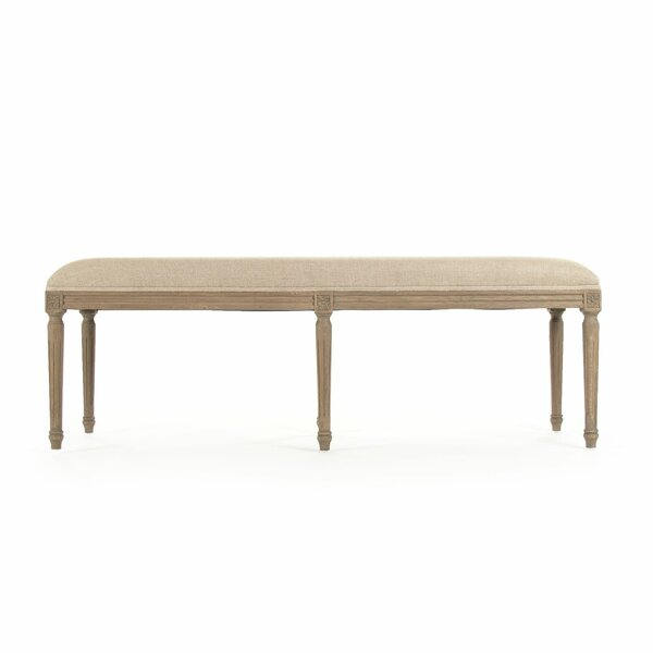 Bodil Wood Bench by One Allium Way