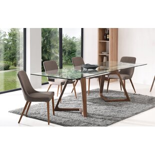 Aiyana Matte 5 Piece Extendable Dining Set By Corrigan Studio