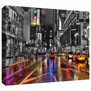'NYC' Photographic Print on Wrapped Canvas by Ebern Designs