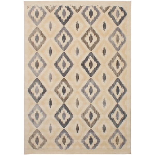 Crumpton Cream Area Rug by Foundry Select