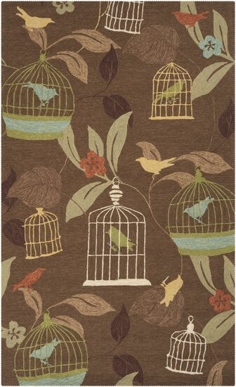 Millstone Cocoa/Taupe Indoor/Outdoor Area Rug by August Grove