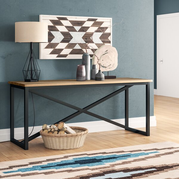 Goodman Console Table by Union Rustic