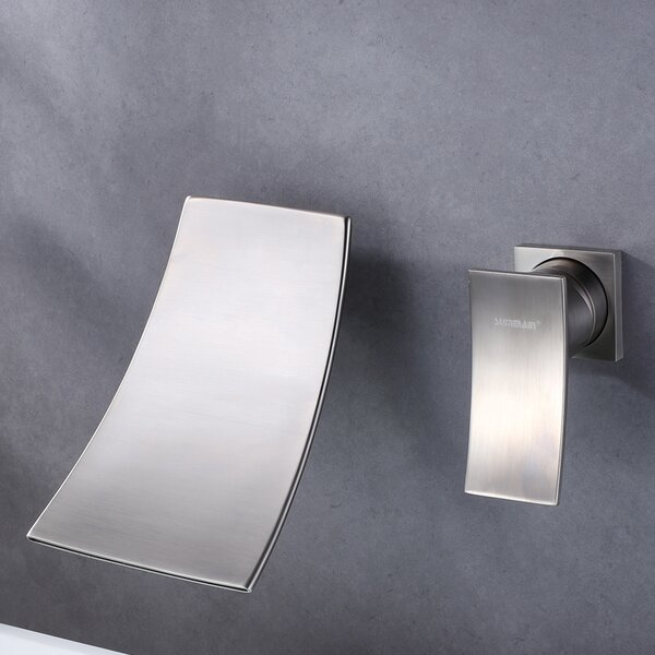 Wall Mount Widespread Bathroom Faucet by Sumerain International Group