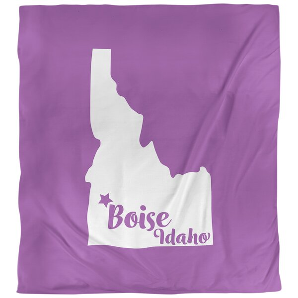 Boise Idaho Duvet Cover