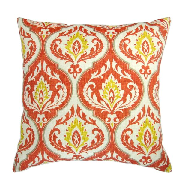 Galiano Modern Medallion Print Indoor/Outdoor Pillow by Bungalow Rose