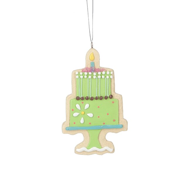 Cake Hanging Figurine by The Holiday Aisle
