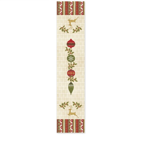 Simply Christmas Table Runner by The Holiday Aisle