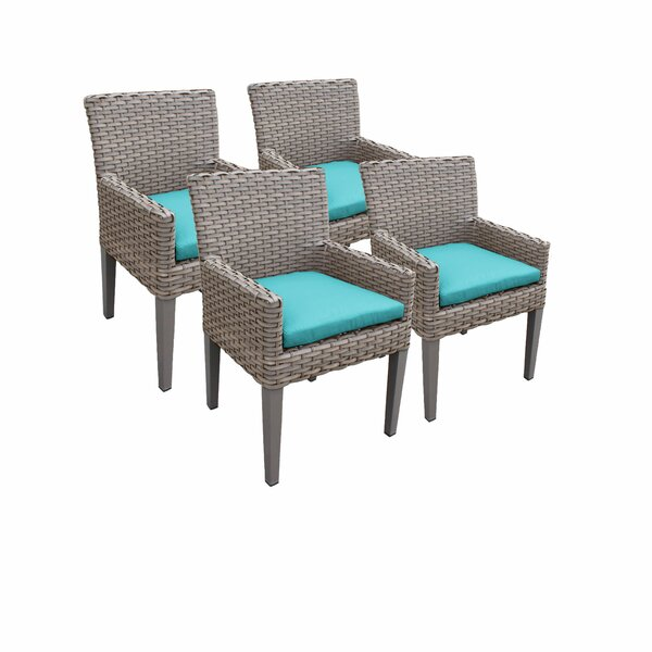 Romford Patio Dining Chair with Cushion (Set of 4) by Sol 72 Outdoor