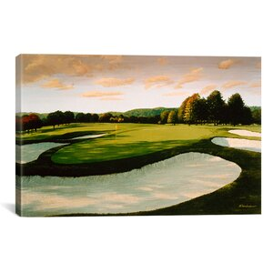 Golf Course 8 by William Vanderdasson Painting Print on Canvas by iCanvas