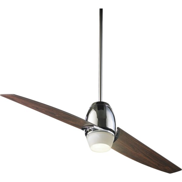 54 Muse 2-Blade Ceiling Fan by Quorum