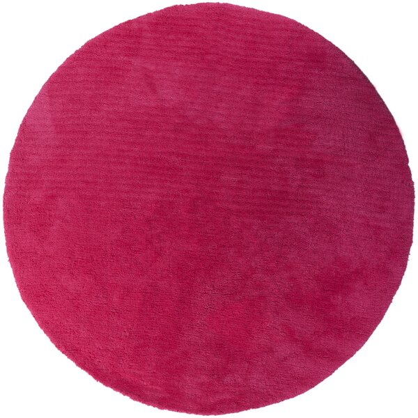 Braun Hot Pink Area Rug by Rosdorf Park