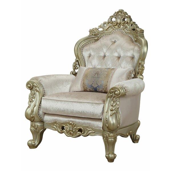 Chavis Traditional Fabric Armchair by Astoria Grand Astoria Grand