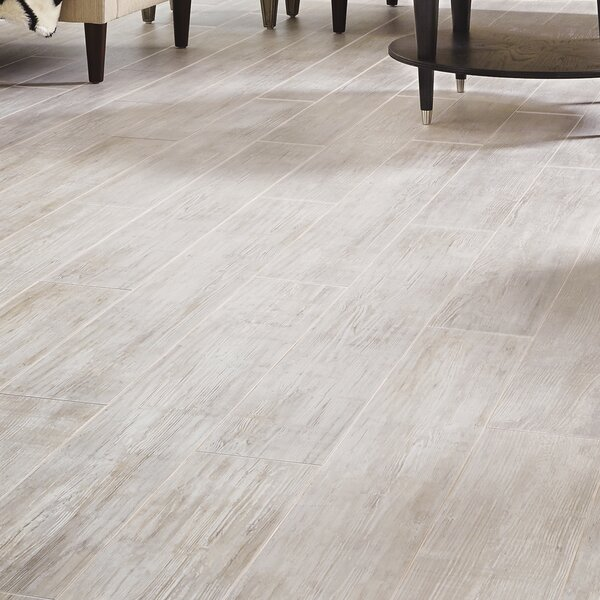 Restoration Wide Plank 8'' x 51'' x 12mm Laminate Flooring in Sand Dollar by Mannington