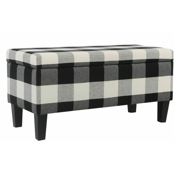 Herr Upholstered Storage Bench by Gracie Oaks
