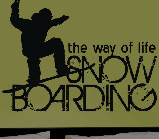 Boarding the Way of Life Wall Decal by Alphabet Garden Designs