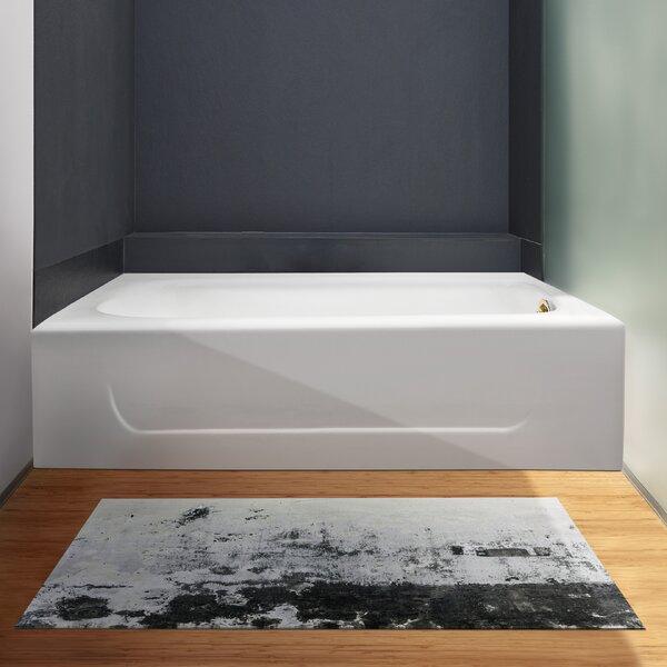 Cast Iron 60 x 30 Clawfoot Soaking Bathtub by Streamline Bath