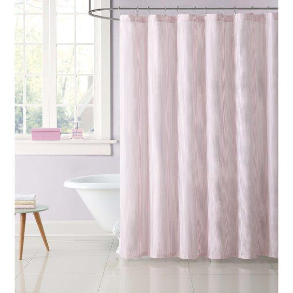 Dunnam Kids Stripe Shower Curtain by Harriet Bee