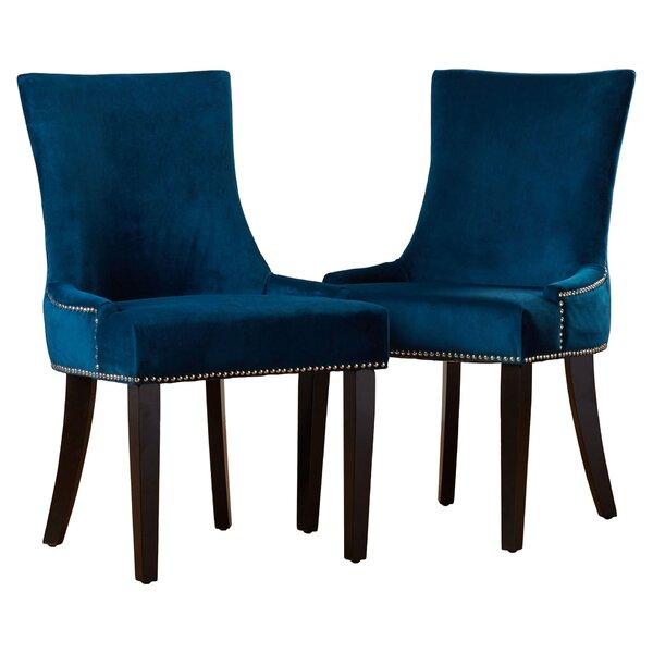 Abby Upholstered Parsons Chair (Set of 2) by Mercer41 Mercer41