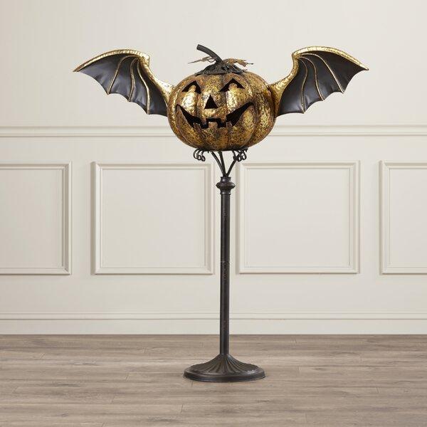 Horne Jack O Lantern Stand Halloween Decoration by House of Hampton