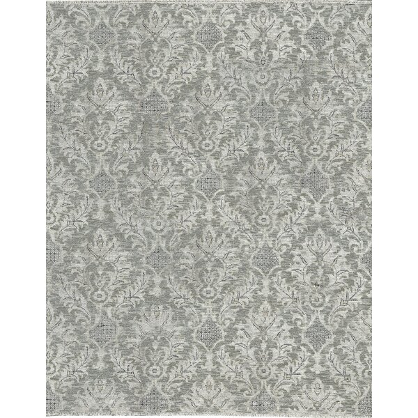 One-of-a-Kind Hand-Knotted Gray Area Rug by Bokara Rug Co., Inc.
