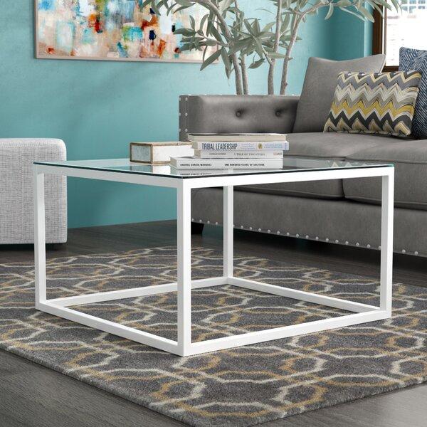 Bonanno Stainless Steel Coffee Table by Brayden Studio