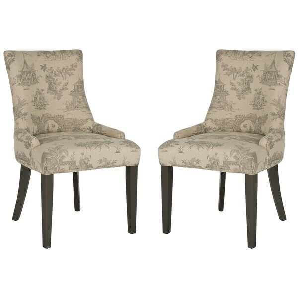 Lester Upholstered Dining Chair (Set of 2) by Safavieh